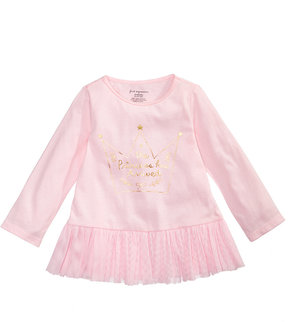 First Impressions Princess Tulle Tunic, Baby Girls (0-24 months), Created for Macy's