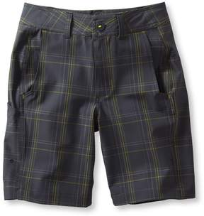 L.L. Bean L.L.Bean Boys Land-to-Sea Shorts, Plaid