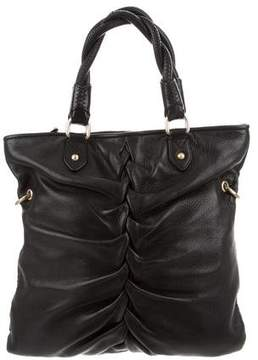 Botkier Leather Ruched Bag