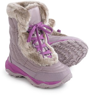 The North Face Nuptse Faux-Fur II Down Snow Boots - Insulated (For Little and Big Girls)