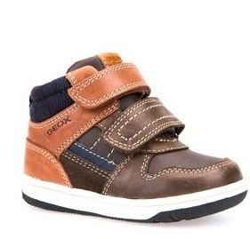Geox Toddler Boy's New Flick Mid Top Sneaker