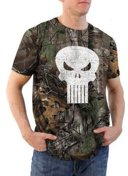 Icon Eyewear Movies & TV Punisher color realtree camo Men's graphic tee