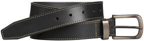 Johnston & Murphy Blackened-Buckle Belt