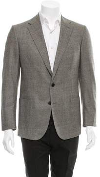 Ovadia & Sons Houndstooth Two-Button Blazer