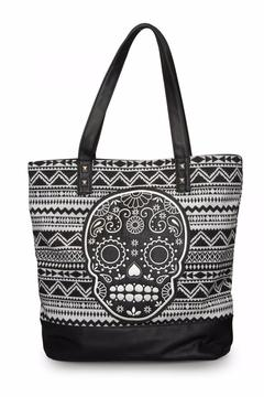 Loungefly Canvas Sugar Skull Tote