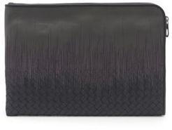 Bottega Veneta Embroidered Leather Document Case
