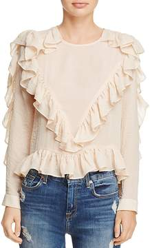 d.RA Andrea Ruffled Top
