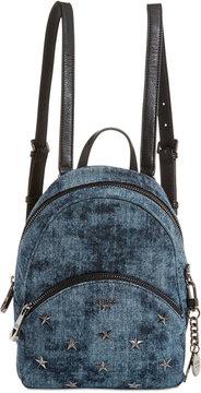 GUESS Bradyn Denim Backpack