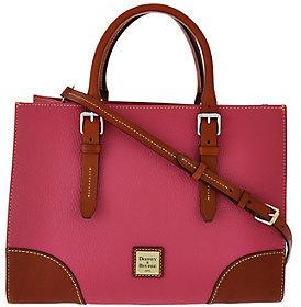 Dooney & Bourke Pebble Leather Janine Satchel