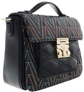 Versace EE1VRBBY1 Black Multicolor Crossbody Bag