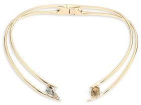 Alexis Bittar Elements Futurist Hinged Collar Necklace
