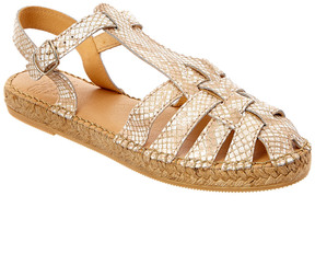 Andre Assous Leather Espadrille