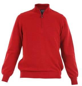Paul & Shark Men's I16p1471466 Red Wool Sweater.