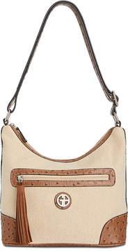 Giani Bernini Linen Hobo, Created for Macy's