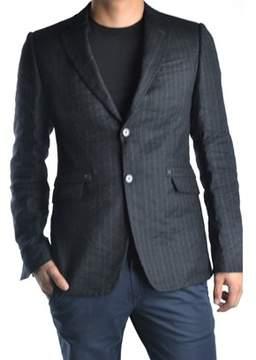 CNC Costume National Men's Grey/black Wool Blazer.