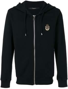 Billionaire logo print hoodie