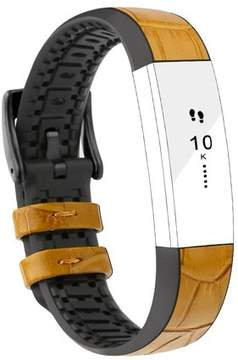 Fitbit iGK Alta Bands Leather Alta HR Bands Adjustable Replacement Sport Strap Band for Alta HR Accessory