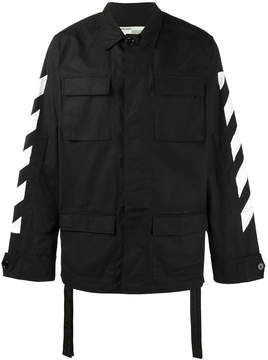 Off-White brushed field jacket