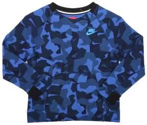 Nike Little Boys' (4-7) All Over Print Tech Fleece Sweatshirt-Game Royal