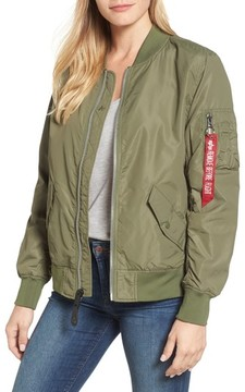 Alpha Industries Women's L-2B Scout Water Resistant Flight Jacket