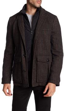 Pendleton Fremont Wool Blend Layered Coat