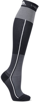 adidas by Stella McCartney Striped Stretch Knee Socks - Midnight blue