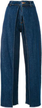 Aalto high waisted flared jeans