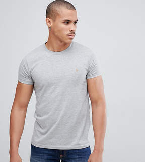 Farah Farris Slim Fit T-Shirt In Gray
