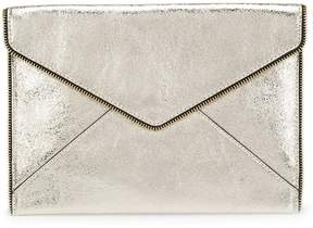Rebecca Minkoff envelope clutch bag - METALLIC - STYLE