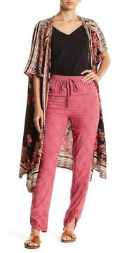 Angie Embroidered Lace Pants