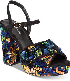 Call it SPRING Laroalia Block-Heel Sandals Women's Shoes