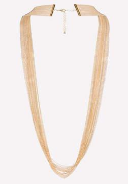Bebe Long Beaded Necklace