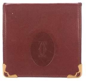 Cartier Leather Logo Coin Purse