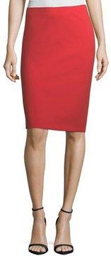 Emporio Armani Garden Rose Slim Pencil Skirt
