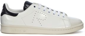 Raf Simons Adidas For Stan Smith Black And White Leather Sneaker