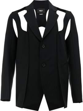 Yang Li cut out detailed blazer
