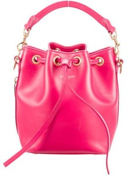 Saint Laurent Emmanuelle Small Bucket Bag - PINK - STYLE