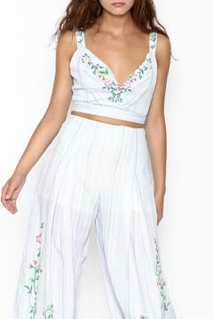 Flying Tomato Floral Crop Top