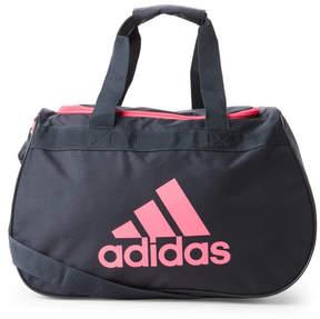 adidas Grey & Pink Diablo Small Duffel Bag
