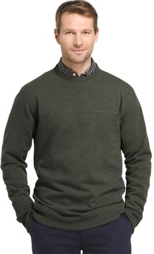 Arrow Men's Classic-Fit Sueded Fleece Crewneck Sweater