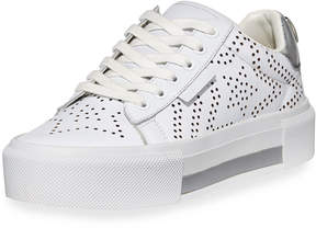 KENDALL + KYLIE Tyler7 Star Perforated Low-Top Sneaker