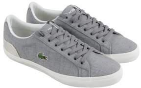 Lacoste Lerond 218 1 Cam Gray Natural Mens Lace Up Sneakers