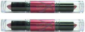 Max Factor Boreal Mauve Flipstick Colour Effect Lipstick - Set of Two