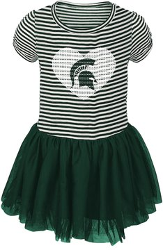 NCAA Toddler Michigan State Spartans Celebration Dress