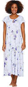 Carole Hochman Ultra Jersey Blooming Meadow Long Gown
