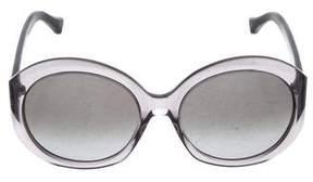 Balenciaga Round Oversize Sunglasses