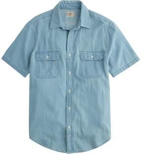 Faherty Penny Short-Sleeve Workshirt - Men's