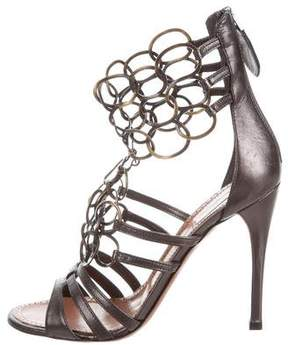 Alaia Embellished Multistrap Sandals w/ Tags