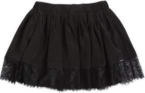 Diesel Satin & Lace Mini Skirt