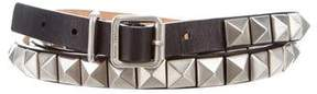 Michael Kors Studded Wrap Belt